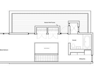 Master floor plan of Echo House