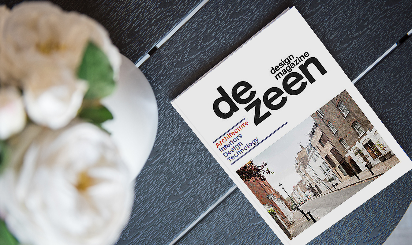 De Zeen design magazine featuring Paul Kariouk's works