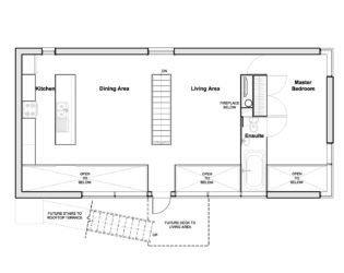 Main Floor Plan for Chelsea Hill House
