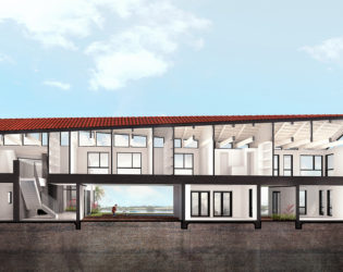 3D Visualization of the Peak Caribbean Residence (Front View)