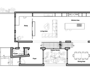 Floor Plans of the Westboro Home