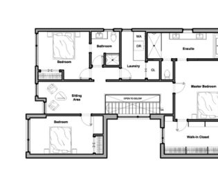 Floor Plans for Westboro Home