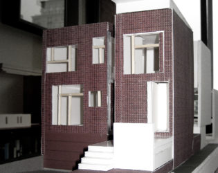 Front-angled view of Westboro Home model