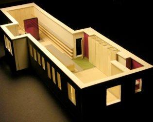 Angled-interior view of Ottawa Loft model
