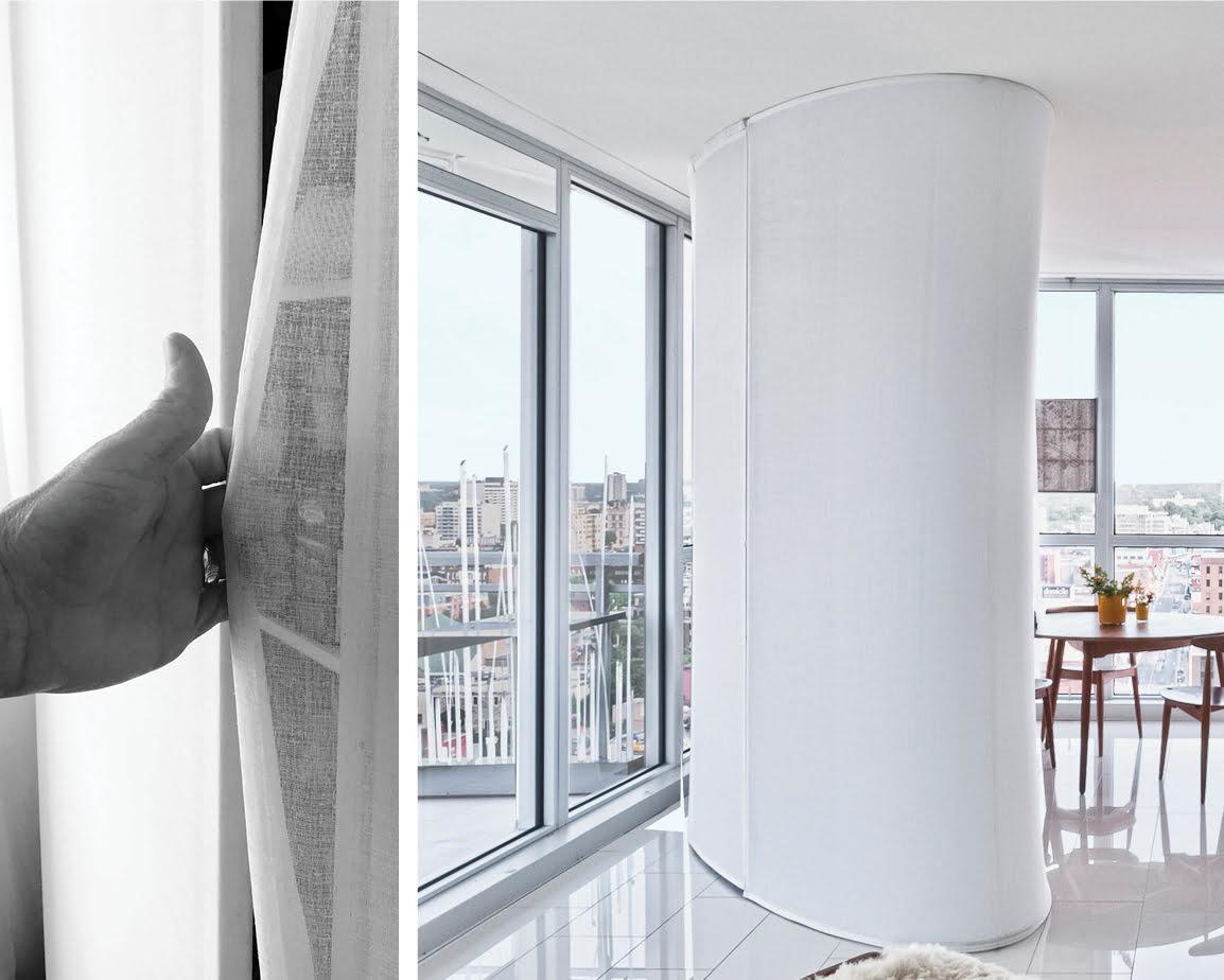 Ottawa Residential Architecture - Redeveloper Apartment divider walls details