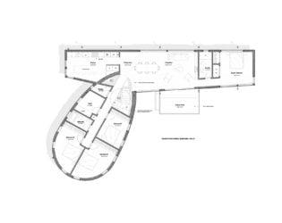 Second floor plan of DASH Home