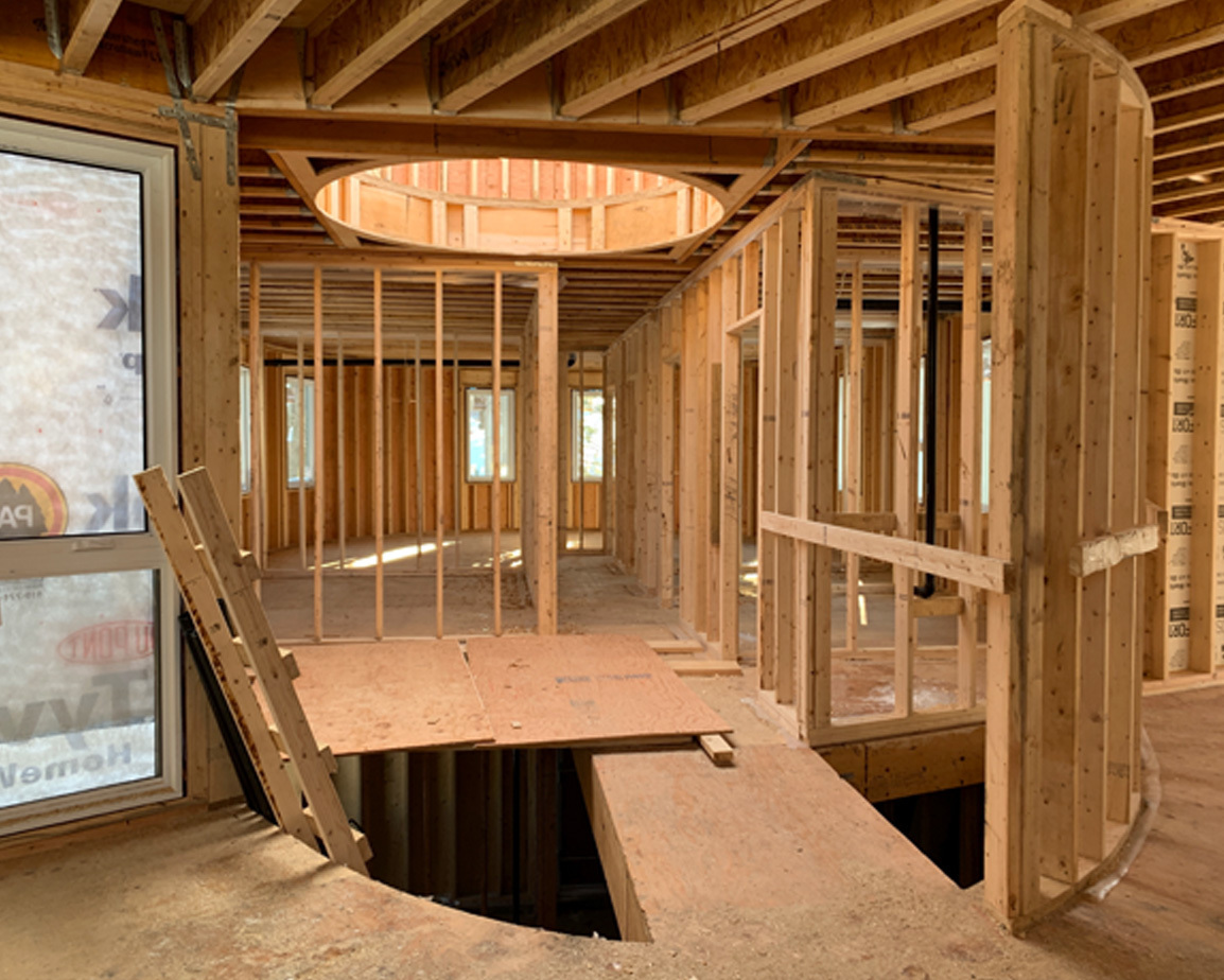 DASH home stick framing construction